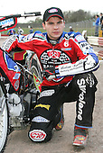 Christian Hefenbrock of Lakeside Hammers Speedway Team - Lakeside Hammers Press Day at The Arena Essex Raceway, Thurrock - 07/03/07 - MANDATORY CREDIT: Rob Newell/TGSPHOTO