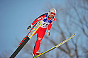 Yoshiko Kasai (JPN),.MARCH 4, 2012 - Ski Jumping : FIS Ski Jumping World Cup Ladies in Zao, Individual the 13th Competiiton HS100 at Jumping Hills Zao,Yamagata ,Japan. (Photo by Jun Tsukida/AFLO SPORT) [0003].