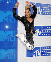NEW YORK, NY - AUGUST 28:Frankie J. Grande attend the 2016 MTV Video Music Awards at Madison Square Garden on August 28, 2016 in New York City Credit John Palmer / MediaPunch