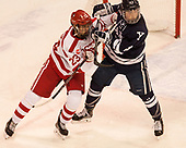 Jakob Forsbacka Karlsson (BU - 23), Charlie Curti (Yale - 23) The Boston University Terriers defeated the visiting Yale University Bulldogs 5-2 on Tuesday, December 13, 2016, at the Agganis Arena in Boston, Massachusetts.