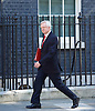 Cabinet meeting arrivals <br /> Downing Street, London, Great Britain <br /> 19th July 2016 <br /> <br /> New members of the Cabinet <br /> arriving ahead of the first cabinet meeting chaired by Theresa May <br /> <br /> <br /> David Davis<br /> Secretary for exiting the EU<br /> <br /> Photograph by Elliott Franks <br /> Image licensed to Elliott Franks Photography Services