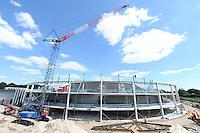 SCHAATSEN: HEERENVEEN: IJsstadion Thialf, 04-06-15, Ver(nieuw)bouw, ©foto Martin de Jong