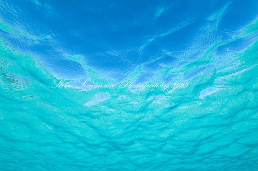 Clear blue Caribbean ocean water Clear turquoise Caribbean water<br /> Trunk Bay<br /> U.S. Virgin Islands