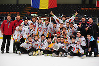 IJSHOCKEY: HEERENVEEN: Thialf, IIHF Ice Hockey U18 World Championship, 060412, Bronze medals for Team Lithuania, ©foto Martin de Jong