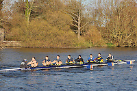 168 .CAM-Neptune .IM3.8+ .Cambridge City RC. Wallingford Head of the River. Sunday 27 November 2011. 4250 metres upstream on the Thames from Moulsford railway bridge to Oxford University's Fleming Boathouse in Wallingford. Event run by Wallingford Rowing Club.