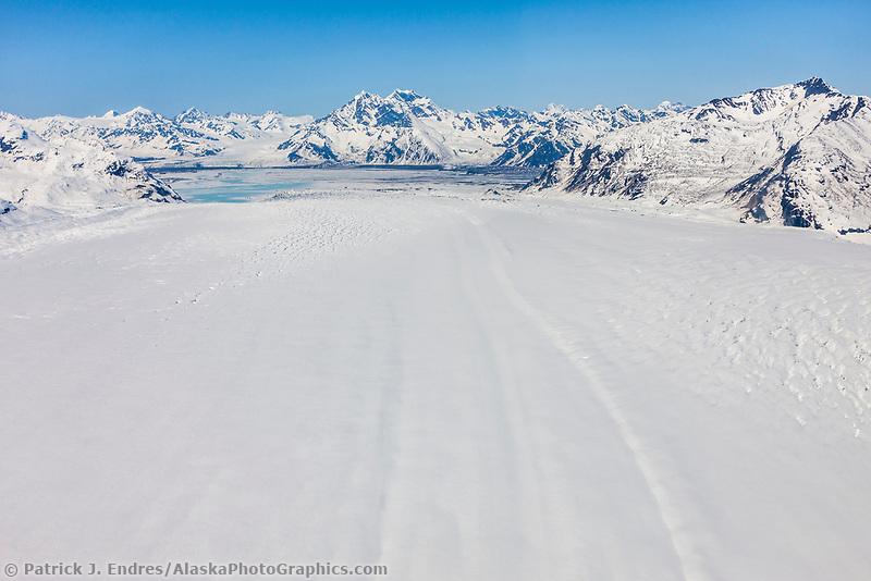 Miles glacier, Chugach mountains, southcentral, Alaska.