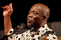 Louisiana born blues and rock guitarist, and singer Buddy Guy performs on the Blues Tent stage on the last day at the New Orleans Jazz and Heritage Festival at the New Orleans Fair Grounds Race Course in New Orleans, Louisiana, USA, 3 May 2009.