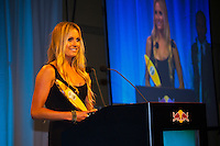 Haleiwa Hawaii, (Monday December 6, 2010) .Monday, Alana Blanchard (HAW).    40th annual SURFER Poll Awards were held tonight at Turtle Bay Resort on Oahu's North Shore..Sal Masekela (USA)  returned to serve as the Master of Ceremonies for the event with charismatic Hawaiian surf star Fred Patacchia as co-host .This year's SURFER Poll Awards were held in honor of recently lost legend, three-time World Champion Andy Irons. While acknowledging all of the surfers lost this year, the event  put a heavy focus on Andy and the legacy he leaves behind in and out of the water. Another focal point of this year's show was  Kelly Slater's 10th world title win. Touted as the world's most dominant athlete, Kelly's accomplishments have catapulted the sport of surfing and garnered the world's attention. Kelly was award the male Surfer of the Year award with Stephanie Gilmore (AUS) taking out the Female Surfer of the Year..Photo: joliphotos.com