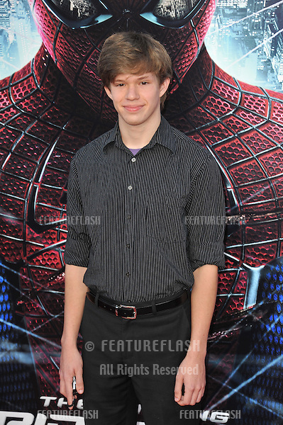 """Andy Gladbach at the world premiere of his movie """"The Amazing Spider-Man"""" at Regency Village Theatre, Westwood..June 29, 2012  Los Angeles, CA.Picture: Paul Smith / Featureflash"""