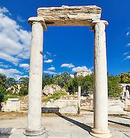The Eastern Propylon in the Roman Agora, Greece
