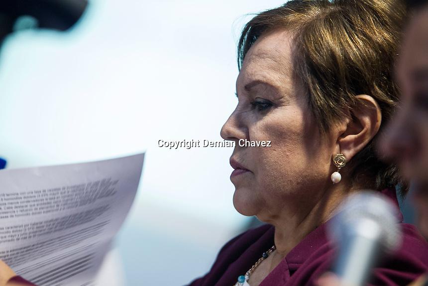 Quer&eacute;taro, Qro. 29 de septiembre de 2016.- <br /> Conferencia Magistral &ldquo;Violencia organizada y Derechos Humanos en M&eacute;xico&rdquo;,&nbsp;que imparti&oacute; la&nbsp;Dra. Patricia Olamendi Torres,&nbsp;experta del Consejo de Derechos Humanos de la Naciones Unidas 2013-2016.<br />  <br /> Foto: Demian Ch&aacute;vez