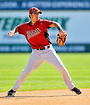 7 March 2011: Houston Astros' infielder Jiovanni Mier in action during a Spring Training game against the Washington Nationals at Space Coast Stadium in Viera, Florida. The Nationals defeated the Astros 14-9 in Grapefruit League action. Mandatory Credit: Ed Wolfstein Photo