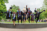 2015 Jumping Grads.JPG by Matt Cashore/University of Notre