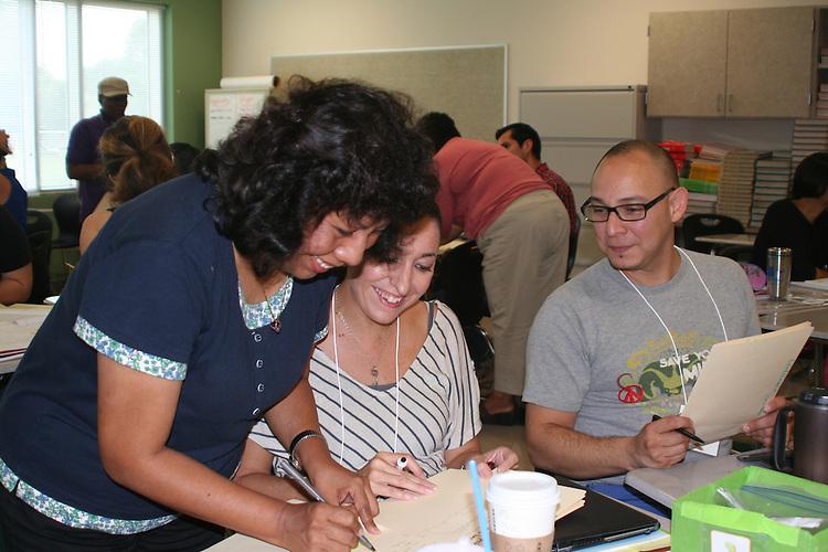 ELL training held August 15, 2012.