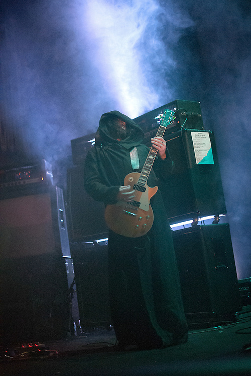 September 8, 2012. Raleigh, NC. Sunn O))) performs at the Memorial Auditorium in the Progress Energy Center as part of the 2012 Hopscotch Music Festival in Raleigh, NC.