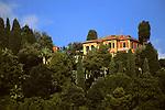 Europe, Italy, Portofino. Scenic life on the Mediteranean coast of Italy.