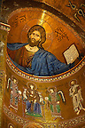 Byzantine mosaics of Jesus Christ in the Cathedral of Monreale - Palermo - Sicily Pictures, photos, images &amp; fotos photography