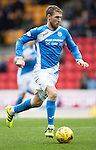 St Johnstone v Partick Thistle&hellip;29.10.16..  McDiarmid Park   SPFL<br />David Wotherspoon<br />Picture by Graeme Hart.<br />Copyright Perthshire Picture Agency<br />Tel: 01738 623350  Mobile: 07990 594431