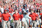Ole Miss tight end Ferbia Allen (83) vs. Georgia at Sanford Stadium in Athens, Ga. on Saturday, November 3, 2012.