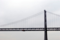 North America, United States of America, California, San Francisco, The Bay Bridge, &copy;Stephen Blake Farrington<br />