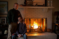 Michael McNeill and Neal Blevins. Together 14 years, Durham, NC.