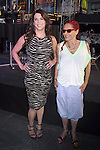 June 15 , 2012 Lauren Graham and Patricia Field at Project Runway's 10th Anniversary Kick-Off at Times Square in New York City. © RW/MediaPunch Inc.
