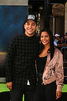 HOLLYWOOD, CA - JULY 9: Austin Mahone, Katya Henry at the premiere of Sony Pictures' 'Ghostbusters' held at TCL Chinese Theater on July 9, 2016 in Hollywood, California. Credit: David Edwards/MediaPunch