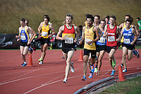 Jake Robertson in action during the Athletics - NZ Track and Field Championships at Newtown Park, Newtown, New Zealand on Friday 6 March 2015. <br /> Photo by Masanori Udagawa. <br /> www.photowellington.photoshelter.com.