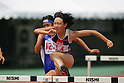Asuka Terada (Eniwa-Kita),AUGUST 6, 2005 - Athletics: During the 2005 All-Japan Inter High School Championships in Chiba 100mH (Photo by Daiju Kitamura/AFLO SPORT) (1045)