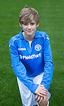 St Johnstone FC Academy U14's<br /> Kyle Woolley<br /> Picture by Graeme Hart.<br /> Copyright Perthshire Picture Agency<br /> Tel: 01738 623350  Mobile: 07990 594431