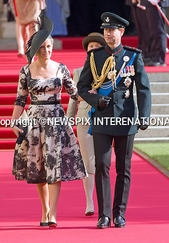"""PRINCE EDWARD AND SOPHIE, COUNTESS OF WESSEX.Religious Wedding Ceremony of HRH the Hereditary Grand Duke and Countess Stéphanie de Lannoy at Cathedral of Our lady of Luxembourg, Luxembourg_20-10-2012.Mandatory credit photo: ©Dias/NEWSPIX INTERNATIONAL..(Failure to credit will incur a surcharge of 100% of reproduction fees)..                **ALL FEES PAYABLE TO: """"NEWSPIX INTERNATIONAL""""**..IMMEDIATE CONFIRMATION OF USAGE REQUIRED:.Newspix International, 31 Chinnery Hill, Bishop's Stortford, ENGLAND CM23 3PS.Tel:+441279 324672  ; Fax: +441279656877.Mobile:  07775681153.e-mail: info@newspixinternational.co.uk"""