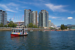 False Creek Ferries in downtown Vancouver, B.C.