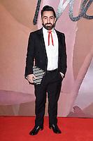 Johnny Coca at the Fashion Awards 2016 at the Royal Albert Hall, London. December 5, 2016<br /> Picture: Steve Vas/Featureflash/SilverHub 0208 004 5359/ 07711 972644 Editors@silverhubmedia.com