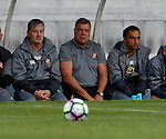 Hartlepool United 0 Sunderland 3, 20/07/2016. Victoria Park, Pre Season Friendly. Sam Allardyce Manager of Sunderland watches the ball. Photo by Paul Thompson.