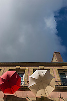 Europe/France/Normandie/Basse-Normandie/50/Manche/Cherbourg:  Enseigne magasin de parapluies de Cherbourg //   France, Manche, Cotentin, Cherbourg, Teaches store Umbrellas of Cherbourg