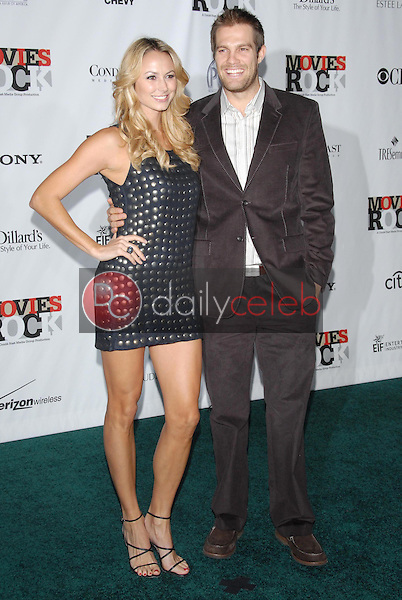 Stacey Keibler and guest<br />