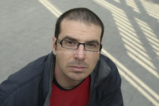 Paolo Bacigalupi, American writer in 2013.
