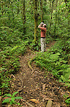 Birding on the Cano Negro Trail, Santa Elena Cloud Forest Reserve, Costa Rica