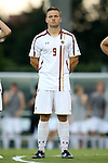 23 September 2016: Boston College's Simon Enstrom (SWE). The University of North Carolina Tar Heels hosted the Boston College Eagles in Chapel Hill, North Carolina in a 2016 NCAA Division I Men's Soccer match. UNC won the game 5-0.