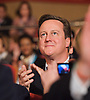 Conservative Party Conference, ICC, Birmingham, Great Britain <br /> Day 1<br /> 7th October 2012 <br /> <br /> David Cameron MP<br /> Prime minister <br /> <br /> Photograph by Elliott Franks<br /> <br /> Tel 07802 537 220 <br /> elliott@elliottfranks.com<br /> <br /> &copy;2012 Elliott Franks<br /> Agency space rates apply