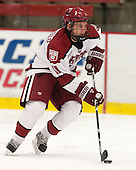 Kyle Criscuolo (Harvard - 11) - The Harvard University Crimson defeated the Colgate University Raiders 4-1 (EN) on Friday, February 15, 2013, at the Bright Hockey Center in Cambridge, Massachusetts.