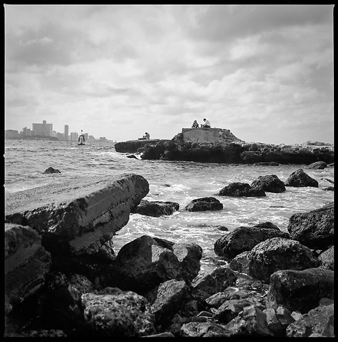 Havana Coast, Cuba by Paul Cooklin