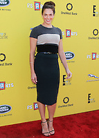 SANTA MONICA, CA, USA - NOVEMBER 16: Amanda Righetti arrives at the P.S. ARTS Express Yourself 2014 held at The Barker Hanger on November 16, 2014 in Santa Monica, California, United States. (Photo by Celebrity Monitor)
