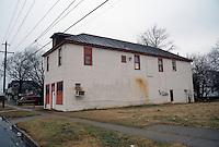 1996 February 10.Conservation.Lamberts Point...Acquisitions.Side Exterior.1450-1454 West 38th Street..NEG#.NRHA#..CONSERV: Lambert2 7:5
