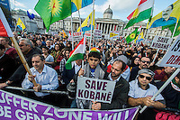 Solidarity with Kobane rally 1-11-14
