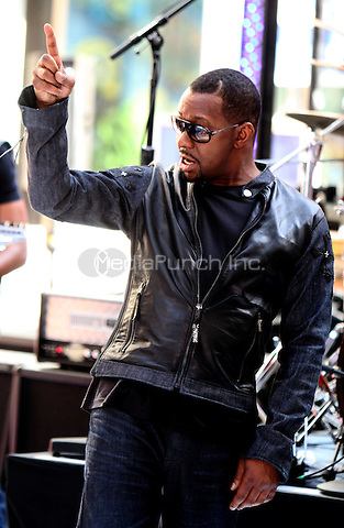 May 28, 2012 Bobby Brown performing live at Rockefeller Center as part of NBC's Today Show Toyota Concert Series in New York City. © RW/MediaPunch Inc.