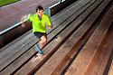 PE00255-00...WASHINGTON - Pierce Prohovost jogging in Edmonds. (MR# P9)