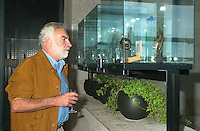 August 23,  2002, Montreal, Quebec, Canada<br /> <br /> ANTONIO BETANCOR, member of  the Jury of the 2002 Montreal World Films Festival, held Aug 22 to Sept 2 2002  in  Montreal, Quebec, Canada, at the Telefilm Canada Reception<br /> <br /> Born in 1944, Antonio Betancor brought a new elan to the Spanish cinema in the late 1970s and early 1980s with such films as Sitting on the Edge of Tomorrow With One's Feet Hanging (1978) and VALENTINA (1982), both winners of prestigious prizes in Spain. His latest film, MARAR&Otilde;A (1998), adapted from the novel by Rafael Arozarena on life in the Canary Islands in the 1940s, was shown in a score of festivals worldwide. It won the Goya (the Spanish Oscar) for best cinematography as well as first prize at the 1999 Miami Hispanic Film Festival. <br /> <br /> <br /> <br /> Mandatory Credit: Photo by Pierre Roussel- Images Distribution. (&copy;) Copyright 2002 by Pierre Roussel
