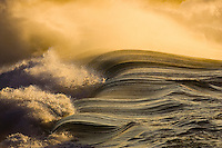 Breaking wave,Waimea Bay, Oahu, Hawaii. Photo: Joli