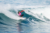Bells Beach, Torquay Victoria, Australia. (Sunday April 20, 2014) Carissa Moore (HAW) –  The 2014  Rip Curl Pro at Bells Beach continued today with the completion of men's Round 2 and Round 2 and Round 3 of the women's event. The surf was in the 4'-6' range for most of the day with light offshore winds and clear skies.  .Photo: joliphotos.com
